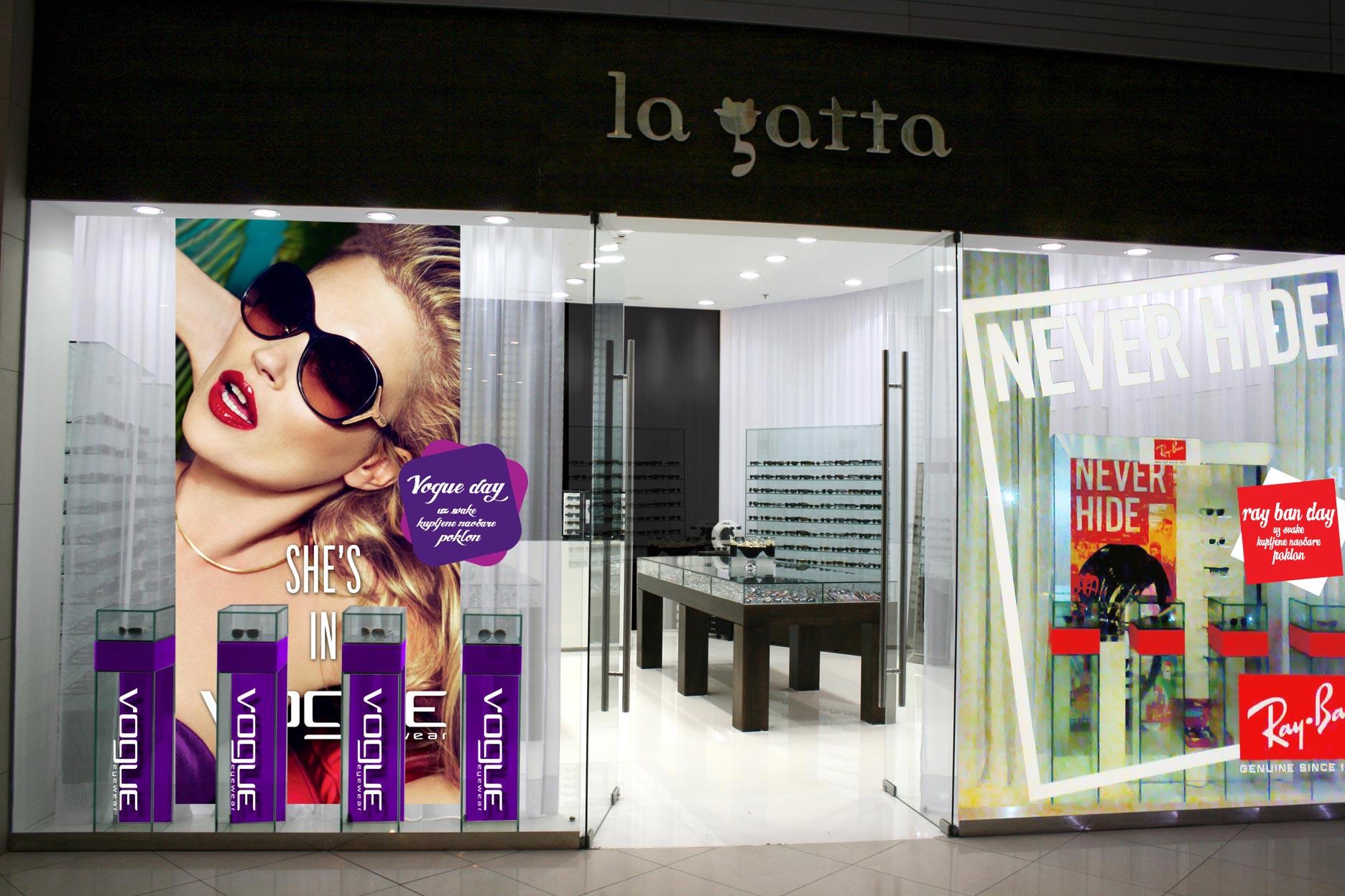 La Gatta Advertising Set Design